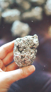 gold pyrite crystal meaning