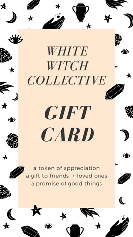 crystal shop gift card