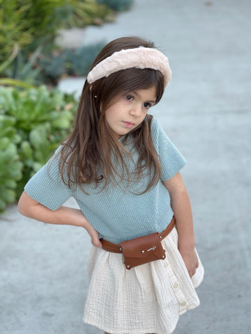 Mini Fanny - Brown