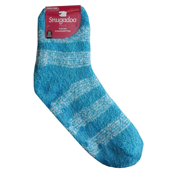 Snugadoo Winter Socks In Blue