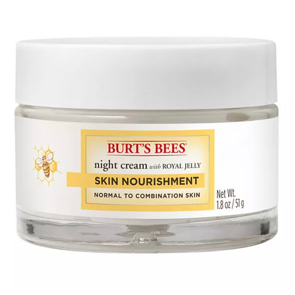 Burt's Bees Skin Nourishment Night Cream with Royal Jelly - 1.8oz