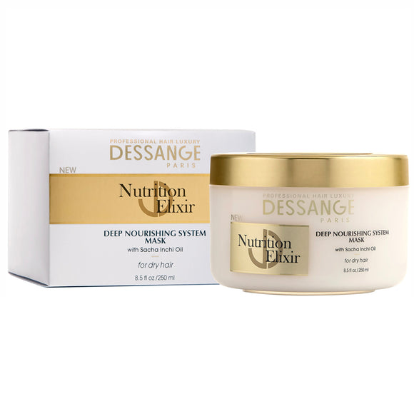 Dessange Paris Nutrition Elixir Deep Nourishing System Mask 8.5 oz