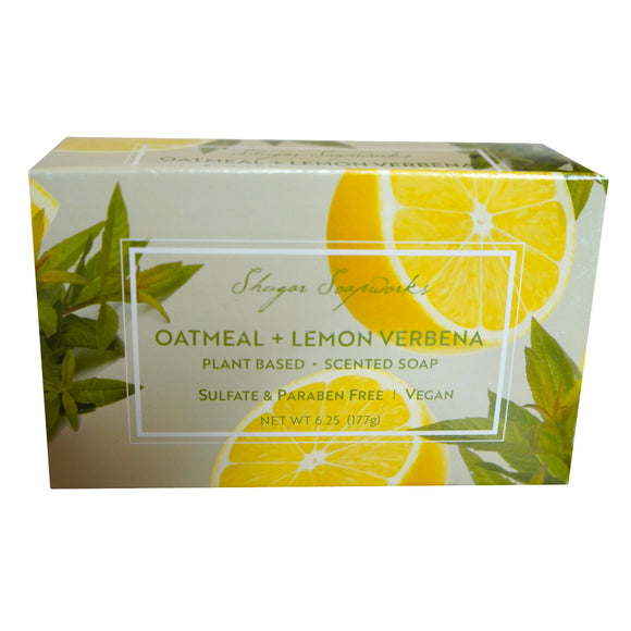 Sugar Soapworks -Since 1969 - OATMEAL & LEMON VERBENA
