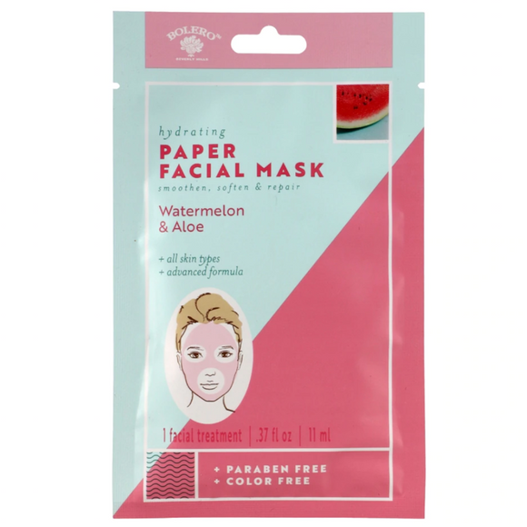Aloe Infused Paper Mask