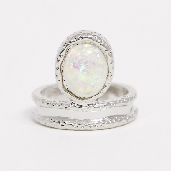 Unicorn Opal Ring