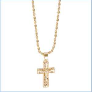 "24"" Chain with Cross Pendant"