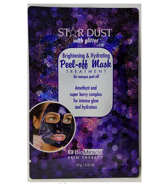 Star Dust Peel-Off Mask - Amethyst & Super-berry Complex