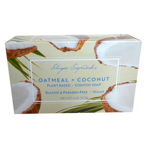 Sugar Soapworks - Since 1969 - OATMEAL + COCONUT