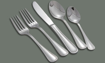 Deluxe Pearl Extra Heavy Weight 18/8 Stainless Steel Dinner Fork
