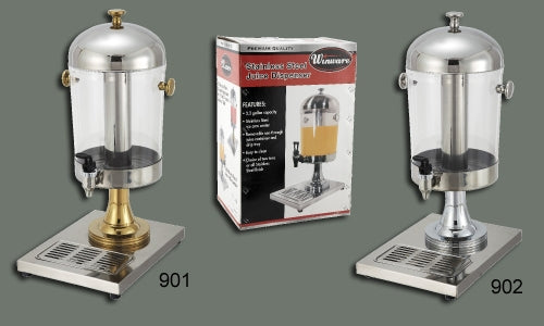 Winco 902 Stainless Steel Juice Dispenser
