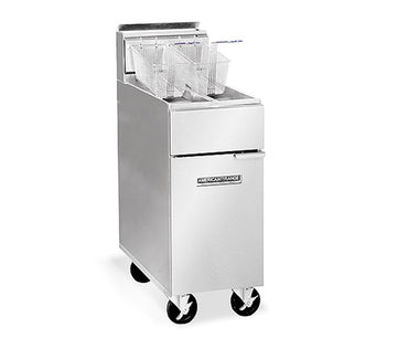 American Range Floor Model AF35-50 Commercial Fryer