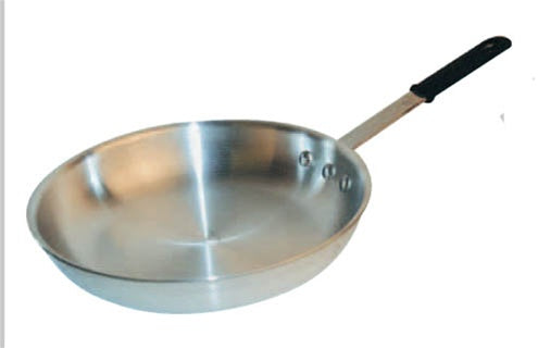Aluminum Fry Pan - 8 inch - Natural Finish with Silicone Sleeve