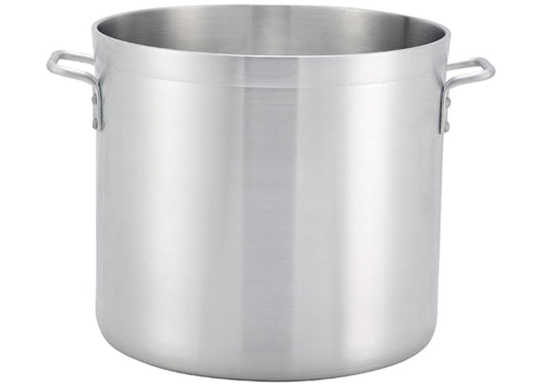 "Extra Heavy 1/4"" (6 mm) Aluminum Stock Pot- 140 Qts."