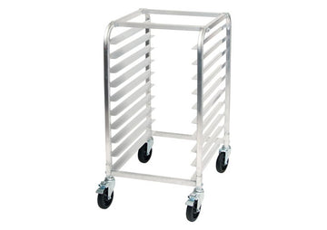 Winco ALRK-10BK Welded Aluminum Pan Rack, NSF