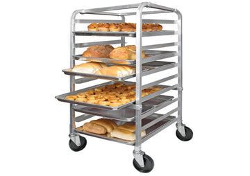 Winco ALRK-10 10-Tier Aluminum Pan Rack, NSF