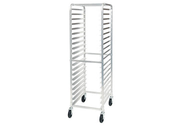 Winco ALRK-20 20-Tier Aluminum Pan Rack, NSF