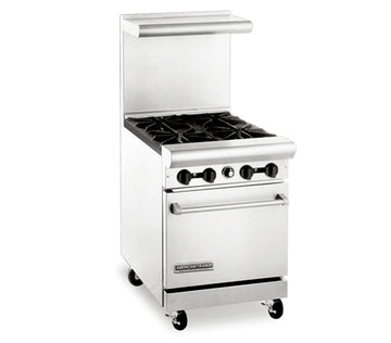 "American Range AR-4 24"" Wide Heavy Duty Restaurant Series Range"