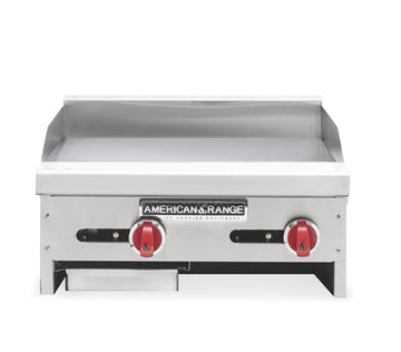 American Range ARTG-24 24 inch Thermostatic Commercial Gas Flat Griddle