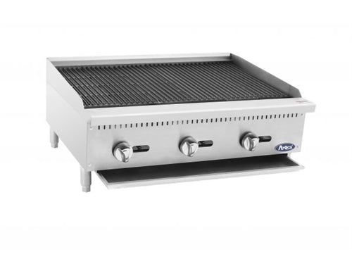 ATOSA 36 Inch Char-rock  Broiler with Total 105,000 BTU