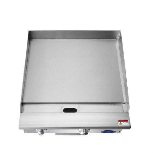 ATOSA 24 Inch Manual Griddle with Total 60,000 BTU