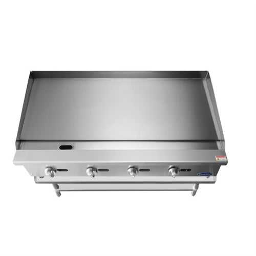 ATOSA 48 Inch Manual Griddle with Total120,000 BTU