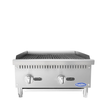 ATOSA 24 inch Radiant Broiler with Total 70,000 BTU