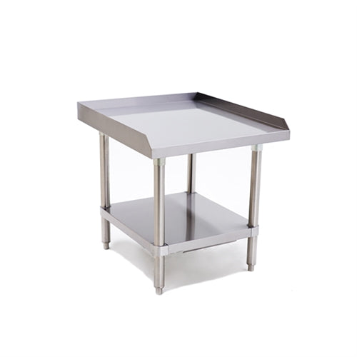 ATOSA ATSE-2824, 24 x 28 - Inch Equipment Stand with Adjustable Undershelf, Stainless Steel