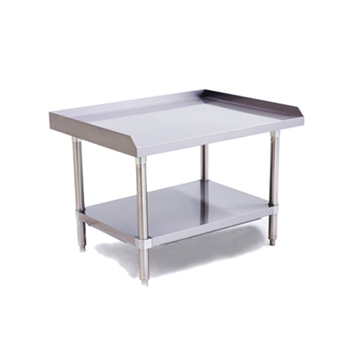 ATOSA ATSE-2836, 36 x 28 - Inch Equipment Stand with Adjustable Undershelf, Stainless Steel