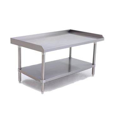 ATOSA ATSE-2848, 48 x 28 - Inch Equipment Stand with Adjustable Undershelf, Stainless Steel