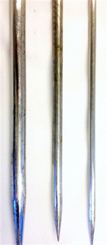 Stainless Steel BBQ Skewers for Kebab - Round - 4 mm Thick