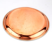 Copper/Stainless Steel Dinner plate 10 inches