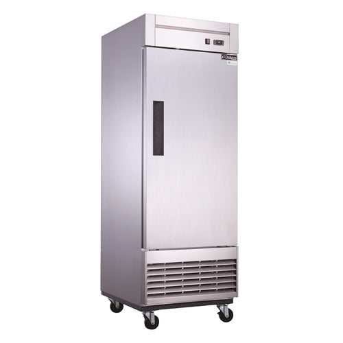Dukers D28R Single Door Commercial Refrigerator in Stainless Steel