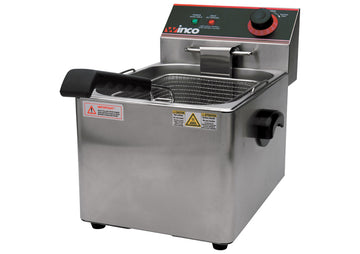 Winco EFS-16 Electric Deep Fryer, Single Well