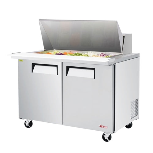 Turbo Air EST-48-18-N 2 Door Sandwich/Salad Mega Top Unit