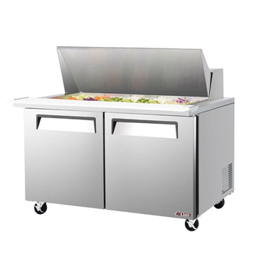 Turbo Air EST-60-24-N 2 Door Sandwich/Salad Mega Top Unit