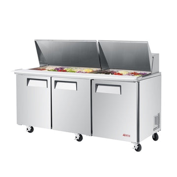 Turbo Air EST-72-30-N 3 Door Sandwich/Salad Mega Top Unit