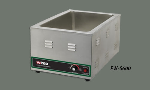 Winco FW-S600 Electric Food Cooker/ Warmer, 1500W