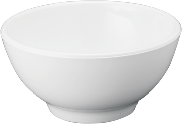 Melamine Round Bowl 10 inch, 109.8 Oz. / 3.43 Qts.White, Pack of 3