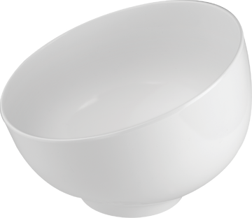 Melamine Ball Bowl 64 Oz./ 2 Qts.  White, Pack of 3