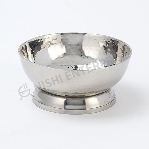 Hammered Stainless Steel Desseet Cup - Short