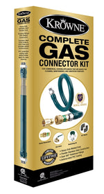 "Krowne Brand Gas Connector Kit - 3/4"" x 36"""