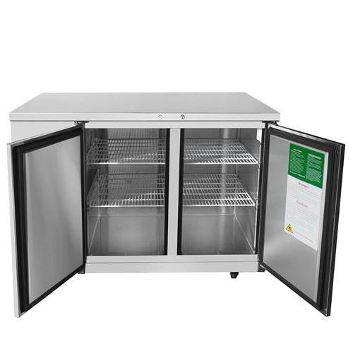 ATOSA MBB48 48 Inch Back Bar Cooler - Stainless Steel