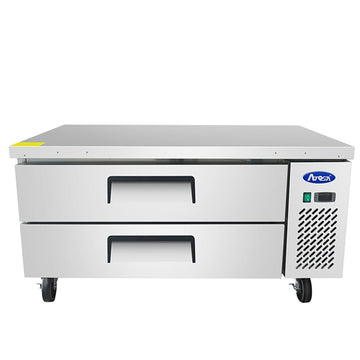 Atosa 52 - Inch 2 Drawer Refrigerated Extended Top Chef Base