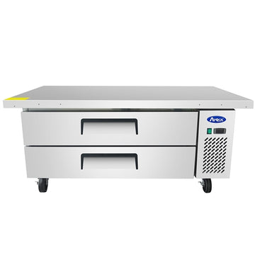 Atosa MGF8452GR 61 - Inch 2 Drawer Refregireted Extended Top Chef Base