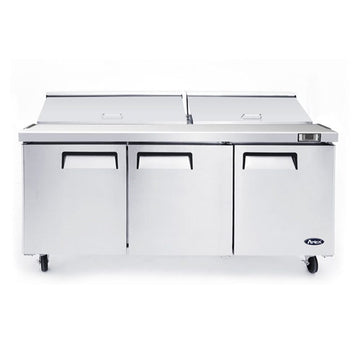 Atosa MSF8304GR 72-Inch Three-Door Sandwich Prep Table