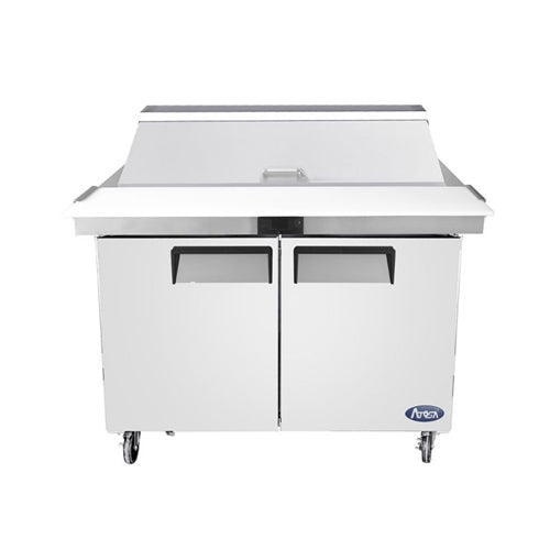 Atosa MSF8306GR 48-Inch Two-Door Mega top Sandwich Prep Table