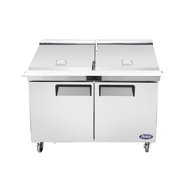 Atosa MSF8307GR 60-Inch Two-Door Mega top Sandwich Prep Table