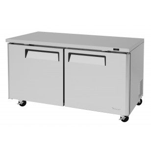 Turbo Air MUR-60-N under counter refrigerator, Two-section