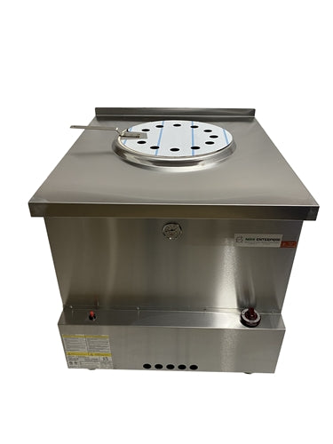 "ETL Certified NISHI Tandoor Clay Oven  : Size XL - 32"" W x 36"" D x 35"" H - Gas"