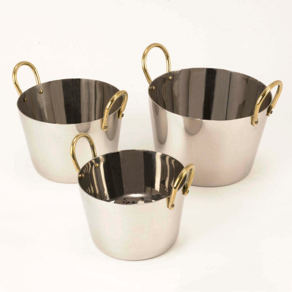 Stainless Steel Conical Serving ware Bowl - 32 Oz.